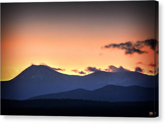 Katahdin Sunset Canvas Print