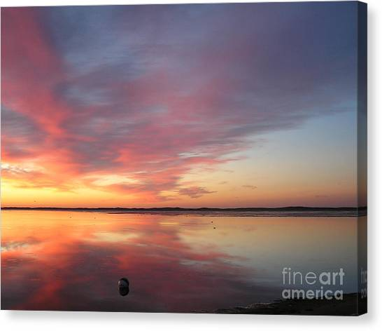 Katama Sunrise Canvas Print