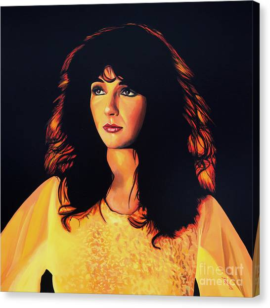 Baroque Art Canvas Print - Kate Bush Painting by Paul Meijering