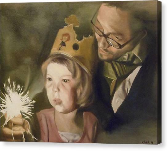 Kate's Sparkler Canvas Print