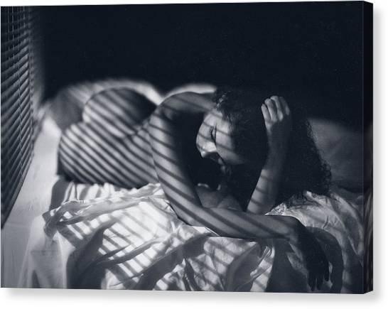Shadows Canvas Print - Katrin by Zachar Rise