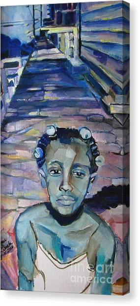 Katrina 1 Year Later Canvas Print
