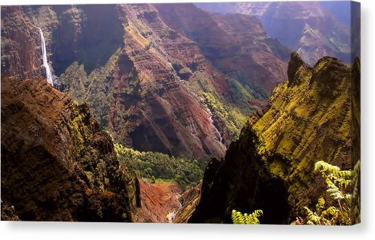 Kauai Colors Canvas Print