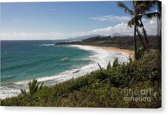 Kauai Surf Canvas Print