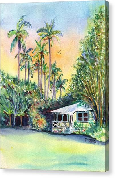Kauai West Side Cottage Canvas Print