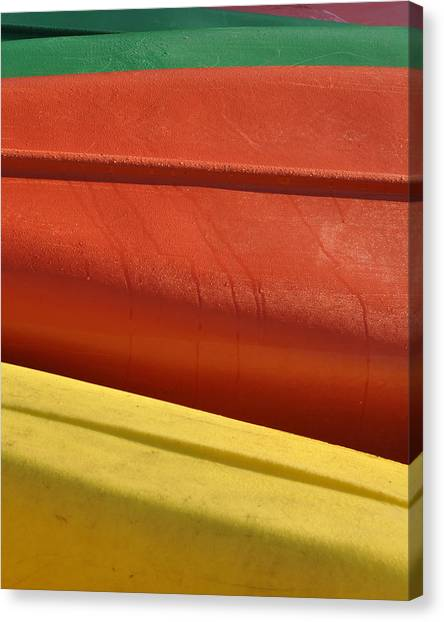 Kayak.1 Canvas Print