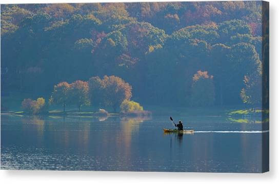 Marshes Canvas Print - Kayaking by ??? / Austin