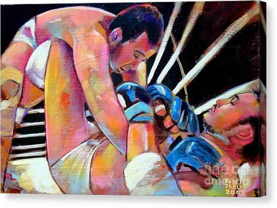 Kazushi Sakuraba 1 Canvas Print