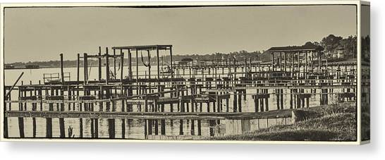 Keemah Piers Canvas Print