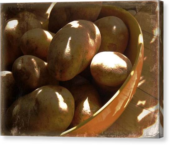 Keep Your Potatoes Canvas Print by Tg Devore