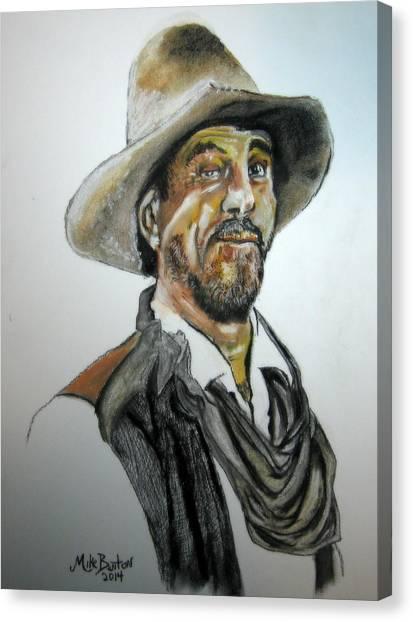 Ken Curtis As Festus Canvas Print