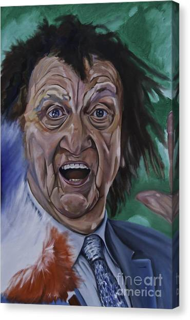 Ken Dodd Canvas Print