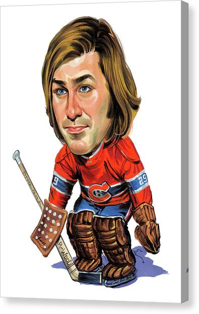 Montreal Canadiens Canvas Print - Ken Dryden by Art