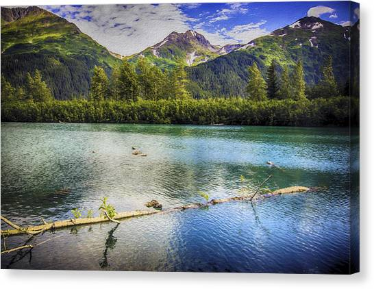 Kenai Alaska Lake Canvas Print