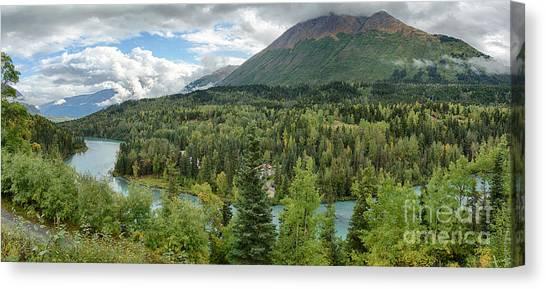 Kenai River Alaska Canvas Print by Paul Karanik