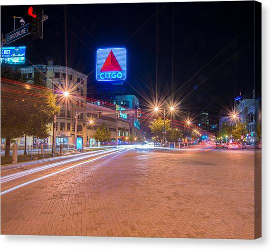 Kenmore Square Canvas Print