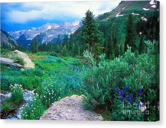 Kennebec Pass Canvas Print