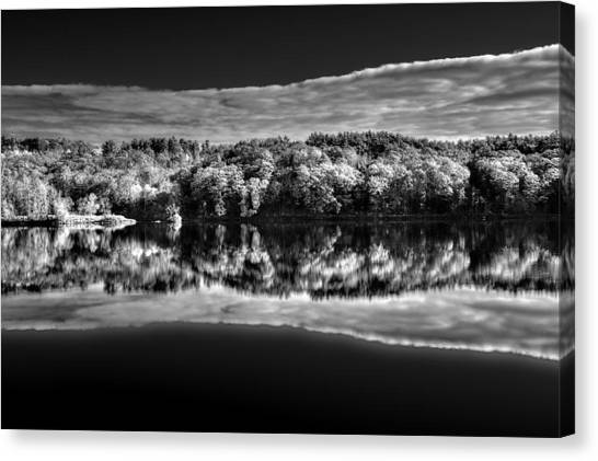 Kennebec Reflections Canvas Print