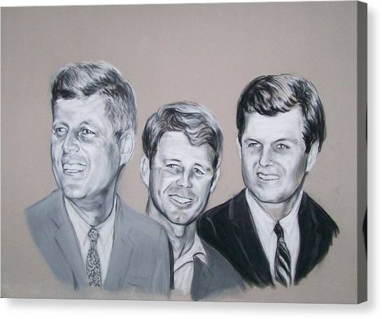 Kennedy Brothers Canvas Print
