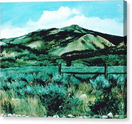 Kennedy Peak In Wyoming Canvas Print