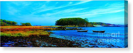 Kennebunkport  Vaughn Island  Canvas Print