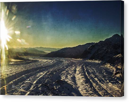 Kennicott Glacier Canvas Print