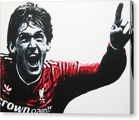 Liverpool Fc Canvas Print - Kenny Dalglish - Liverpool Fc by Geo Thomson