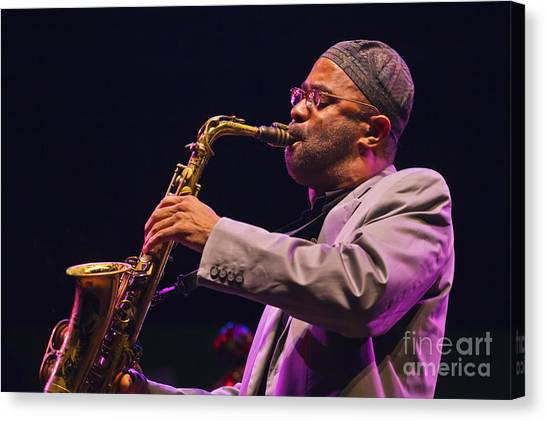 Kenny Garrett Canvas Print