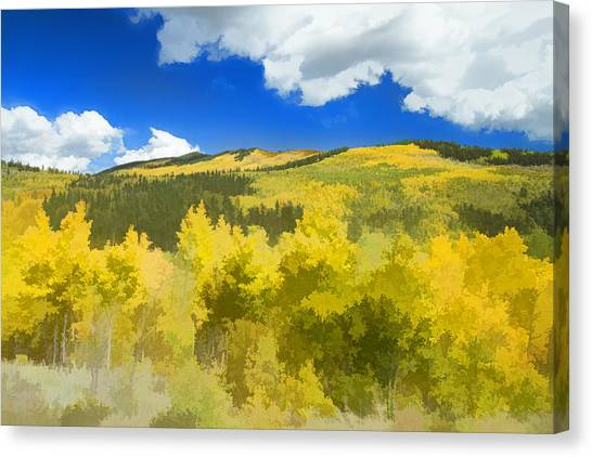 Kenosha Pass Colors Canvas Print
