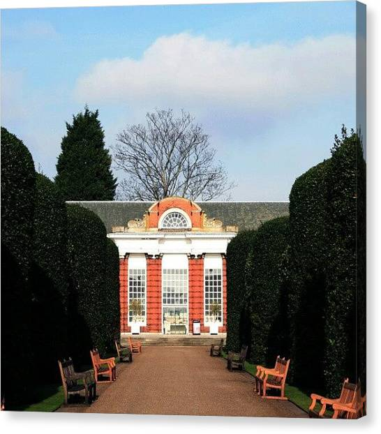 Baroque Art Canvas Print - #kensingtonpalace #hydepark #kensington by Jason Emmett