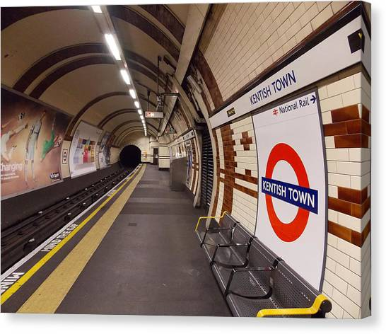 Kentish Town Tube Station Canvas Print