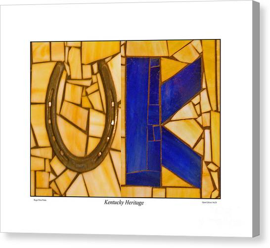 University Of Kentucky Canvas Print - Kentucky Heritage by Roger Potts