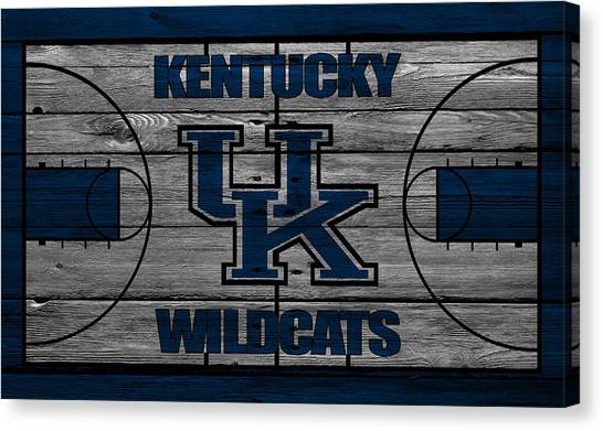 Ball State University Canvas Print - Kentucky Wildcats by Joe Hamilton