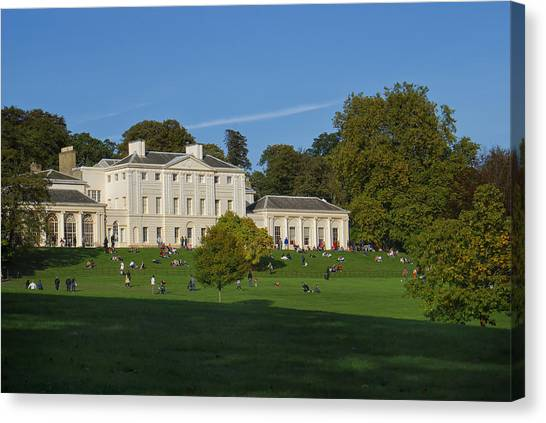 Kenwood House Hamstead Heathouse Canvas Print