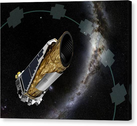 K2 Canvas Print - Kepler Observatory K2 Mission by Nasa/ames/jpl-caltech