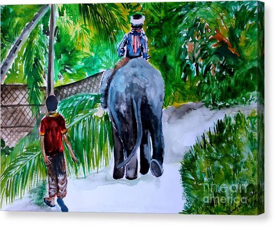 Kerala Canvas Print