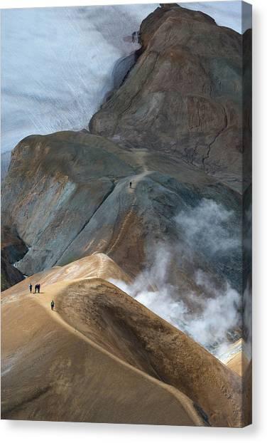 Glaciers Canvas Print - Kerlingarfja?ll by Ira Aschermair