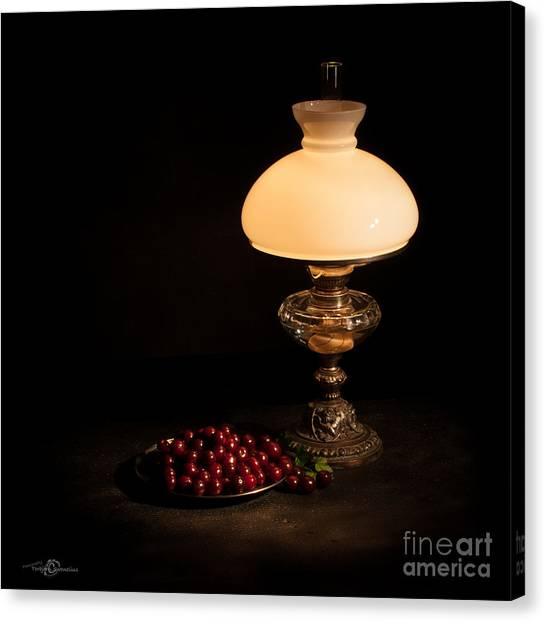 Kerosene Lamp Canvas Print