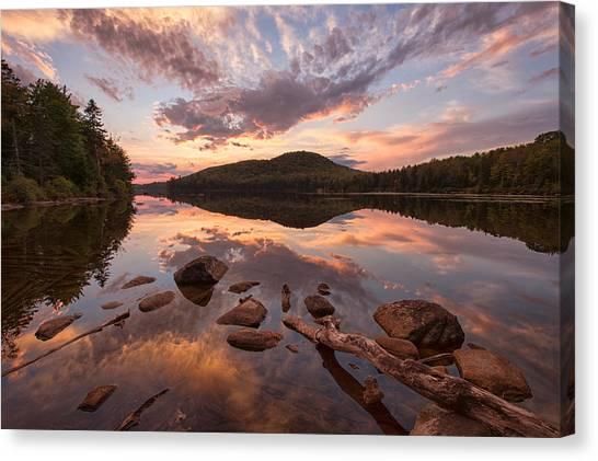 Kettle Pond Sunset Canvas Print