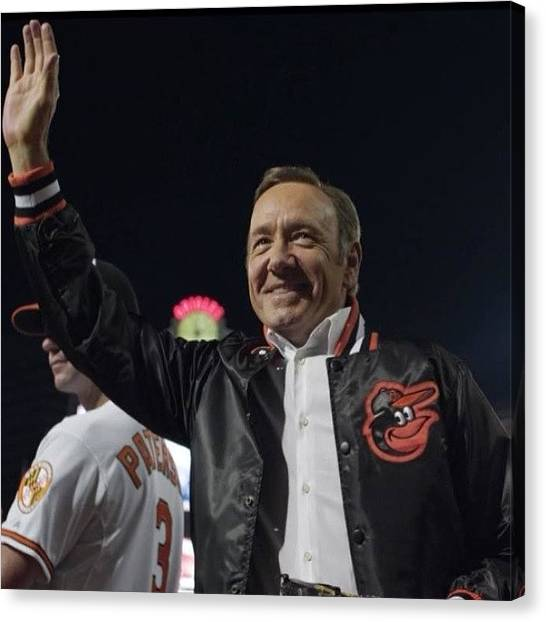 Orioles Canvas Print - Kevin Spacey & Orioles. #houseofcards by Mims Katy