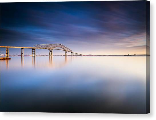 Key Bridge 2014 Canvas Print