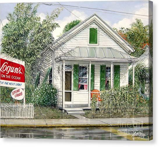 Key West 1955 Canvas Print