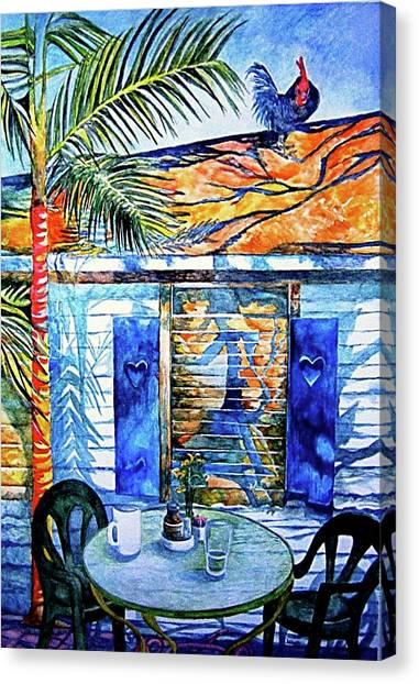 Key West Still Life Canvas Print