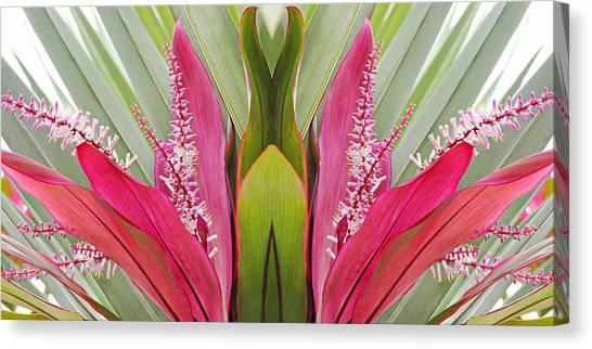 Key West Symmetry Canvas Print