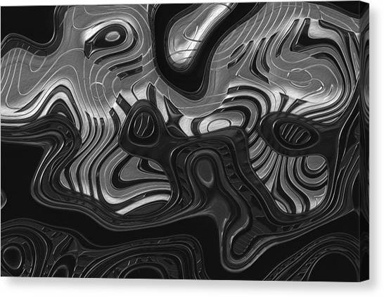 T-bone Canvas Print - Keys by Jack Zulli