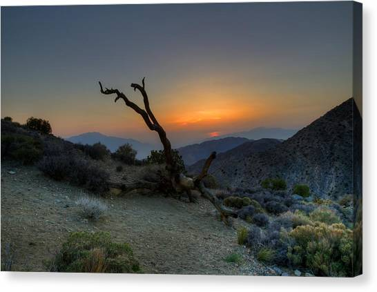 Keys View Sunset Canvas Print