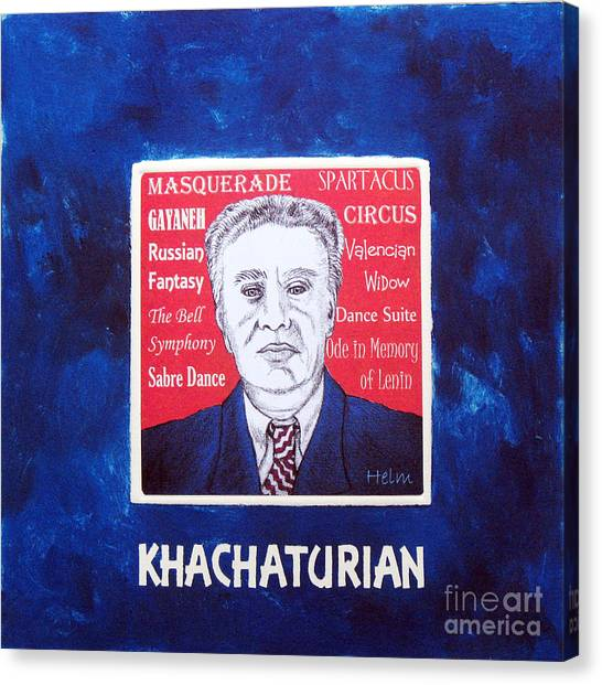 Khachaturian Canvas Print by Paul Helm