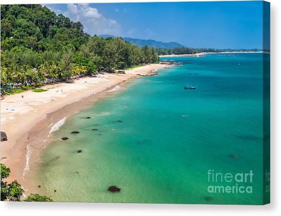 Tsunamis Canvas Print - Khao Lak Beach by Adrian Evans