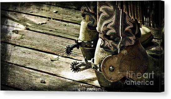 Kick Start Canvas Print by Larry Young