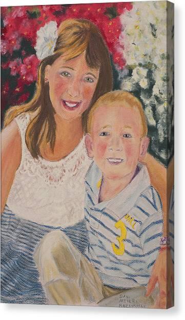Kids 1 Canvas Print by Dani Altieri Marinucci